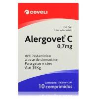 Alergovet C 0,7mg  c/ 10 comprimidos