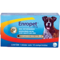ENROPET PAL 150 MG - 10 COMP
