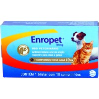 ENROPET PAL 50 MG - 10 COMP