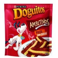 DOGUITOS APERITIVOS FILE C/QUEIJO 10X45G