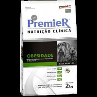 PremieR Nutrição Clínica Obesidade Cães 2kg