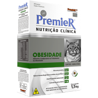 PremieR Nutrição Clínica Obesidade Gatos 1,5kg