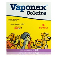 COLEIRA VAPONEX 20GMS